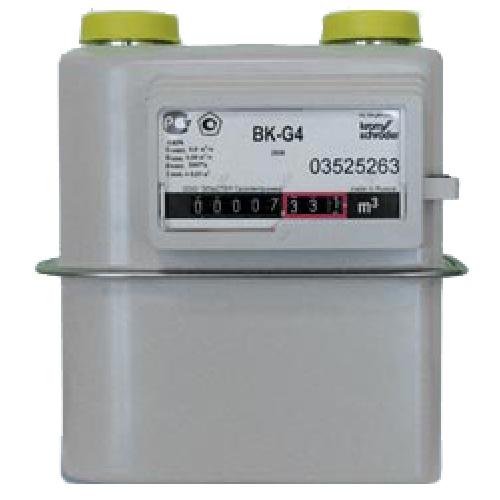 Счетчик газа ВК G 4 лево-право