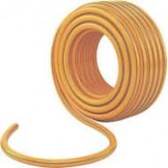 Шланг поливочный Д=18мм бухта 25м ПВХ желтозеленый