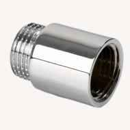 Удлинитель HLV 1/2х25 мм ник.гайка