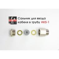 Устройство для ввода кабеля в трубу ASK-1