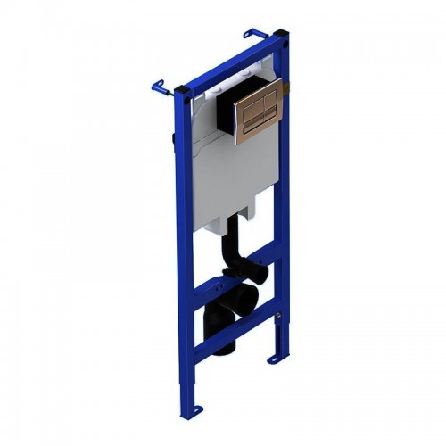 Инсталяция  д\унитаза (WC1010) АНИ в комплекте : панель,кнопка,крепление