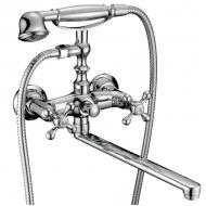 Смесители для ванны 8033В  А03  Calorie длин.нос . крест