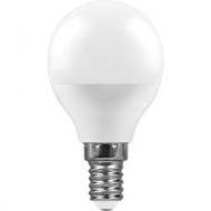 Лампа LED 7W шар E14 K4000 EPES